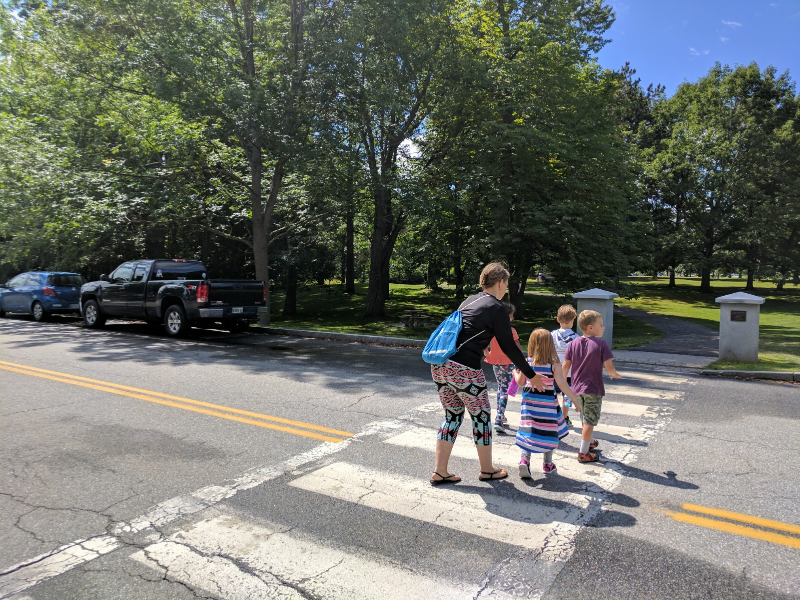 Kids in crosswalk #2